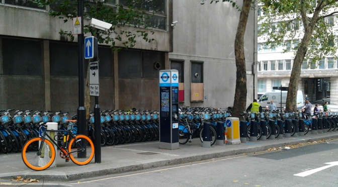 One Shot One Ride #015 Barclays Cycle Hire