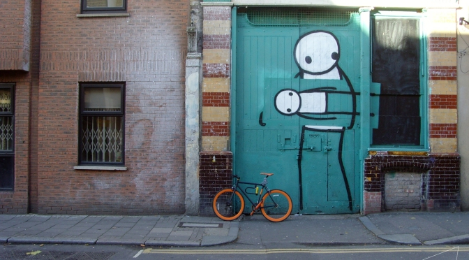 One Shot one Ride #045 Stik in Hoxton