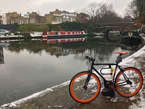 One Shot One Ride  - Regent's Canal in the Winter