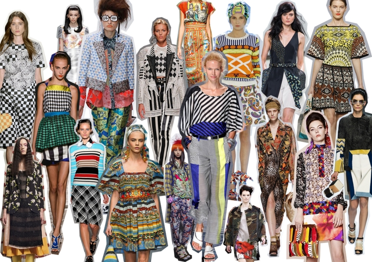 a loud party of prints
