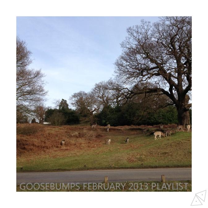 Goosebumps Playlist February 2013