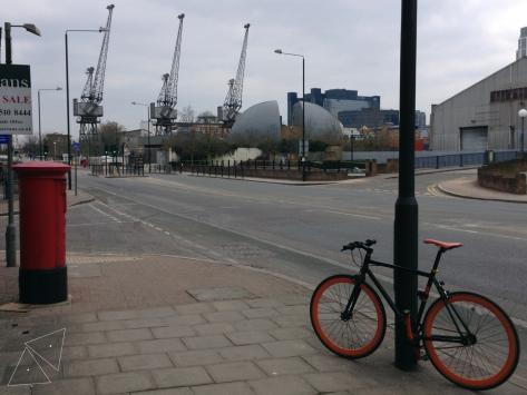 One Shot One Ride - South Quay Cranes