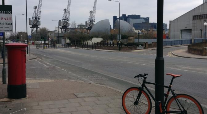 One Shot One Ride #094 South Quay Cranes