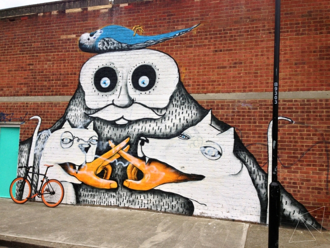 One Shot One Ride #101 Hackney Wick Murales