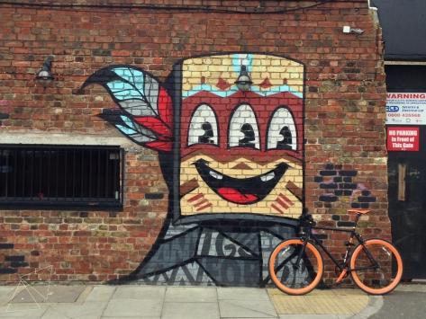 One Shot One Ride - Street Art by Nylon