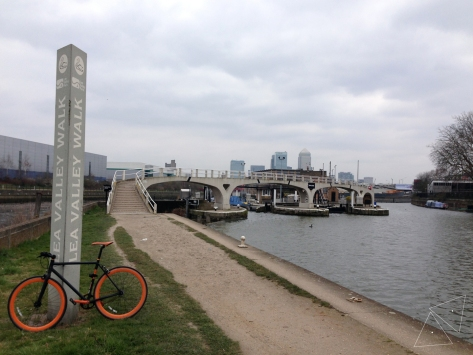 One Shot One Ride - Lea Valley Walk