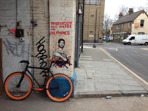 One Shot One Ride - Street Art in Hackney Wick