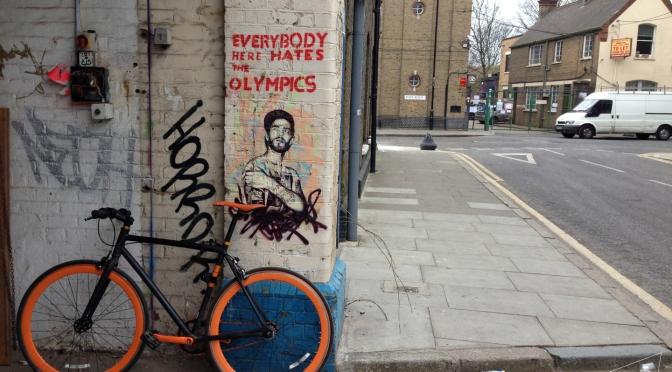 One Shot One Ride #108 Street Art in Hackney Wick
