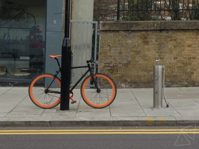 One Shot One Ride #110 Bike Pumps Around London