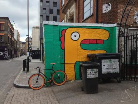One Shot One Ride - Street Art by Noir