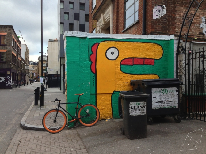 One Shot One Ride #112 Street Art by Noir