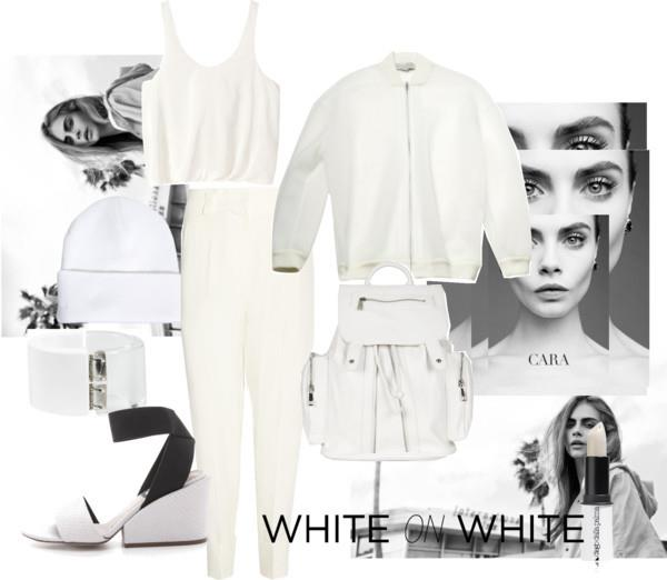 Suddenly in love with white.