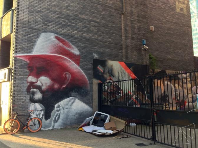 One Shot One Ride #120 Street Art in Shoreditch 1