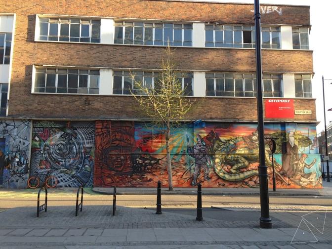 One Shot One Ride #122 Street Art in Shoreditch 2