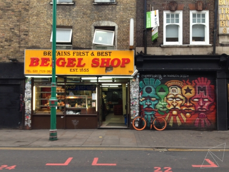 One Shot One Ride - Beigel Shop Brick Lane