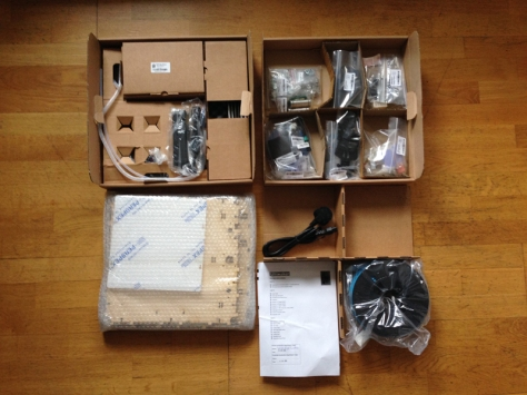 Ultimaker 1 as a kit